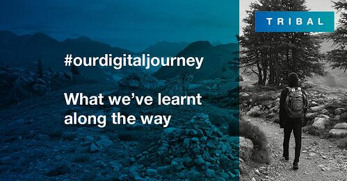 #ourdigitaljourney – what we've learnt along the way