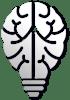 Innovation brain lightbulb