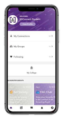 SDConnect Student Home Mock Up[1411]